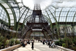 Overview of the Chanel couture menagerie.