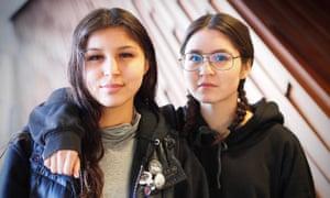 Lovina and Delema Janvier