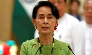 Aung San Suu Kyi, Myanmar's state counsellor, has stayed silent on the persecution of the Rohingya Muslim minority.