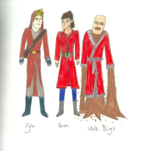 Railhead characters