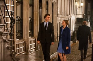 Breakout hit … Ansel Elgort and Shailene Woodley in The Fault in Our Stars.