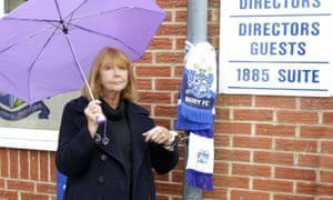 Protest against club owner Steve Dale