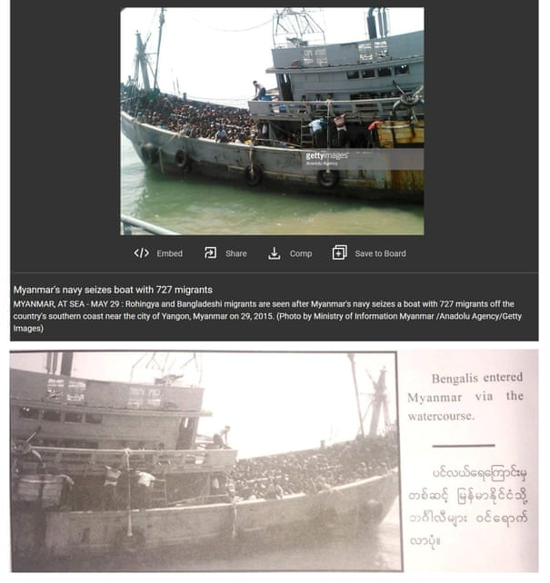 Myanmar army fakes photos and history in sinister rewrite of