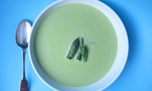 Felicity Cloake's perfect asparagus soup.