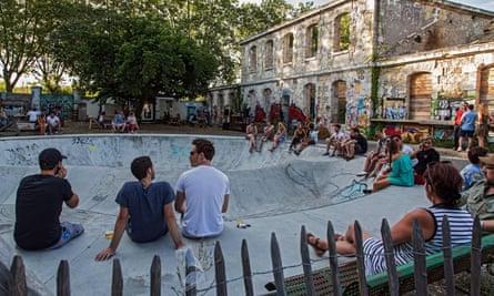 Darwin skate park in Bordeaux.