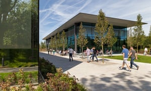 Dyson'e existing facility in Malmesbury, Wiltshire.
