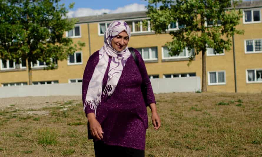 Community organiser Sabah Qarasnane.