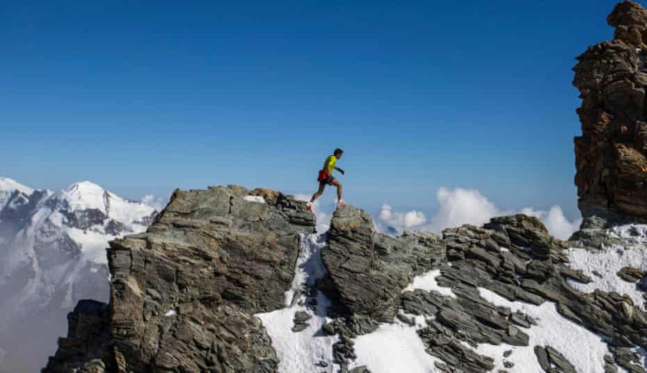 'In the mountains, I never waver': Kilian Jornet filming his documentary, Path to Everest.