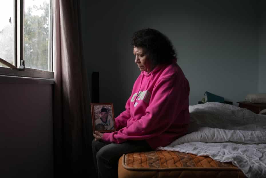 Leetona Dungay, the mother of David Dungay Jr