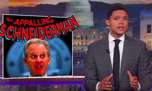 Trevor Noah: 'This is a huge story because Schneiderman presented himself as an advocate for women.'