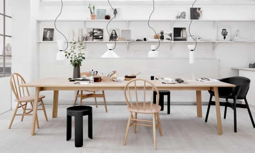 Level thinking: the robust and practical flatpack dinning table from Hem