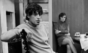 Playwright Tom Stoppard at home in 1967.