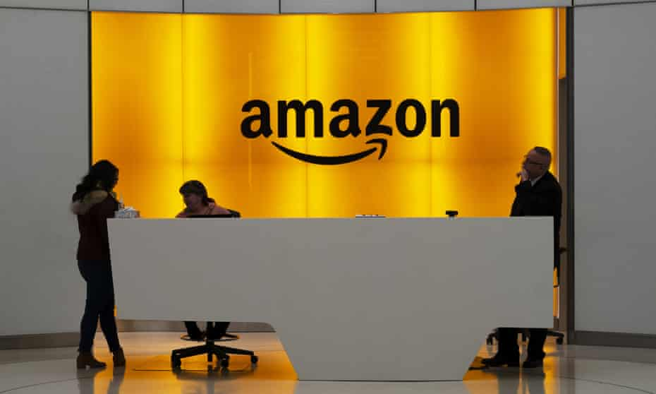 Amazon offices in New York.