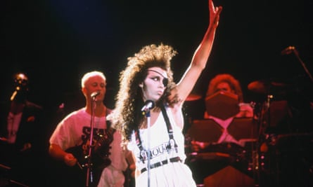 Pete Burns with Dead Or Alive in 1991