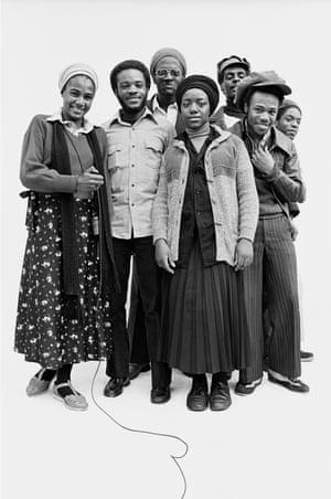 Afrikan Star reggae band, 7 Oct 1979