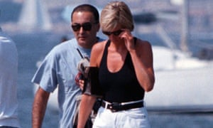 Dodi Fayed and Diana, Princess of Wales, in St Tropez shortly before her death in 1997.