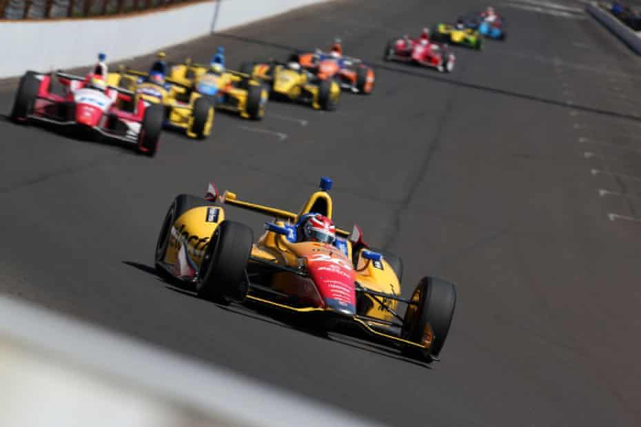 An IndyCar series race.
