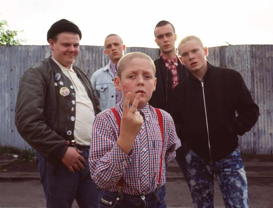 This Is England, starring Thomas Turgoose, centre