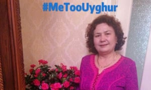 Yultuz Tashmemet posted this picture of her mother to Twitter, calling on the Chinese government to release a video proving she was alive.