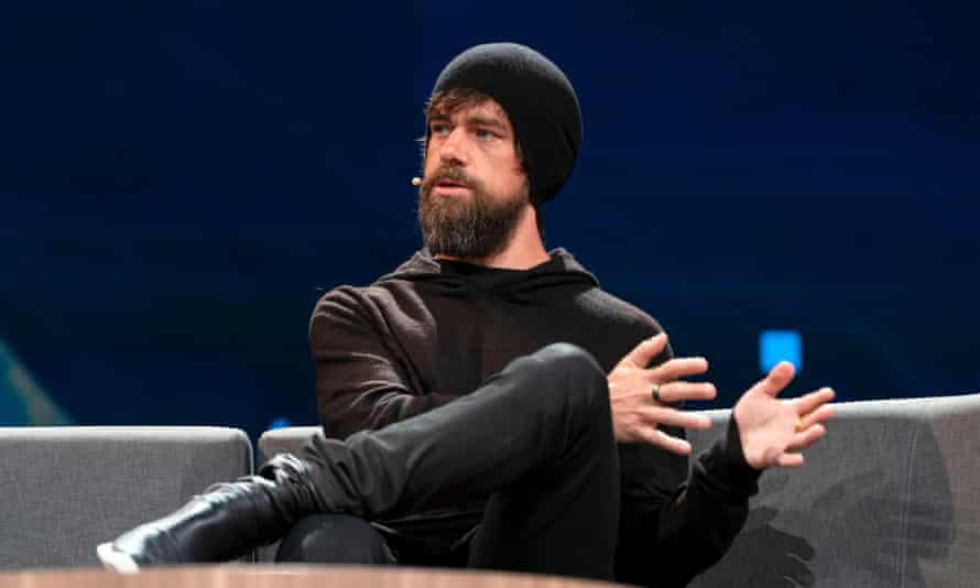 Twitter co-founder Jack Dorsey at TED2019 in Vancouver last week. 'There is no point in quick fixes,' he said.
