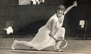 Suzanne Lenglen helped revolutionise tennis when she won her first Wimbledon title in 1919 with an overarm serve and exuberant ground strokes.