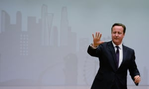 David Cameron at the School of Public Policy in Singapore