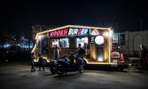 Baghdad street food: the Kookh Burger stall