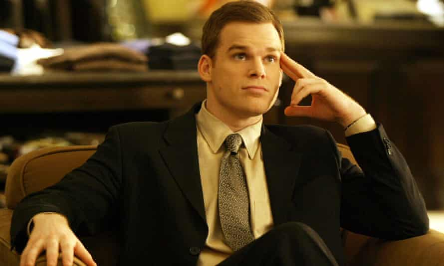 In the closet … Hall as David Fisher in Six Feet Under.