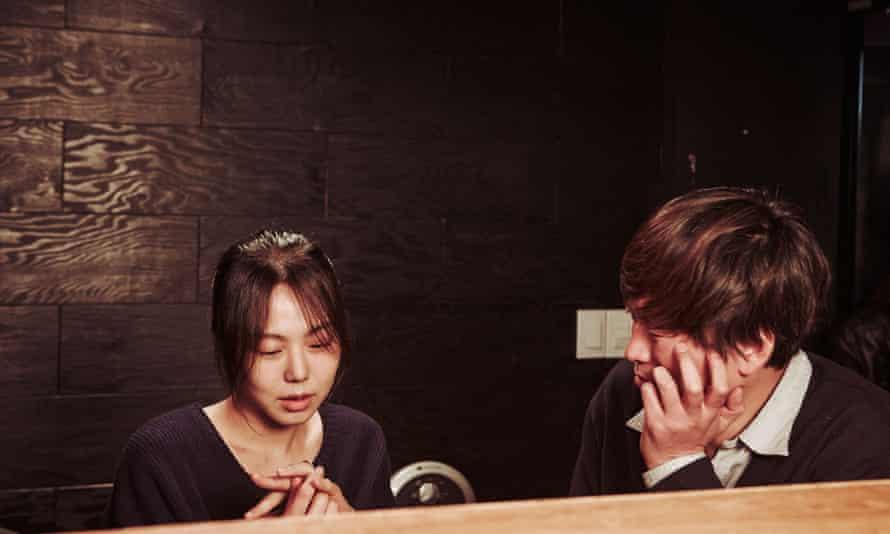 Kim Min-hee and Jeong Jae-yeong in Hong Sang-soo's masterly Right Now, Wrong Then (2015).