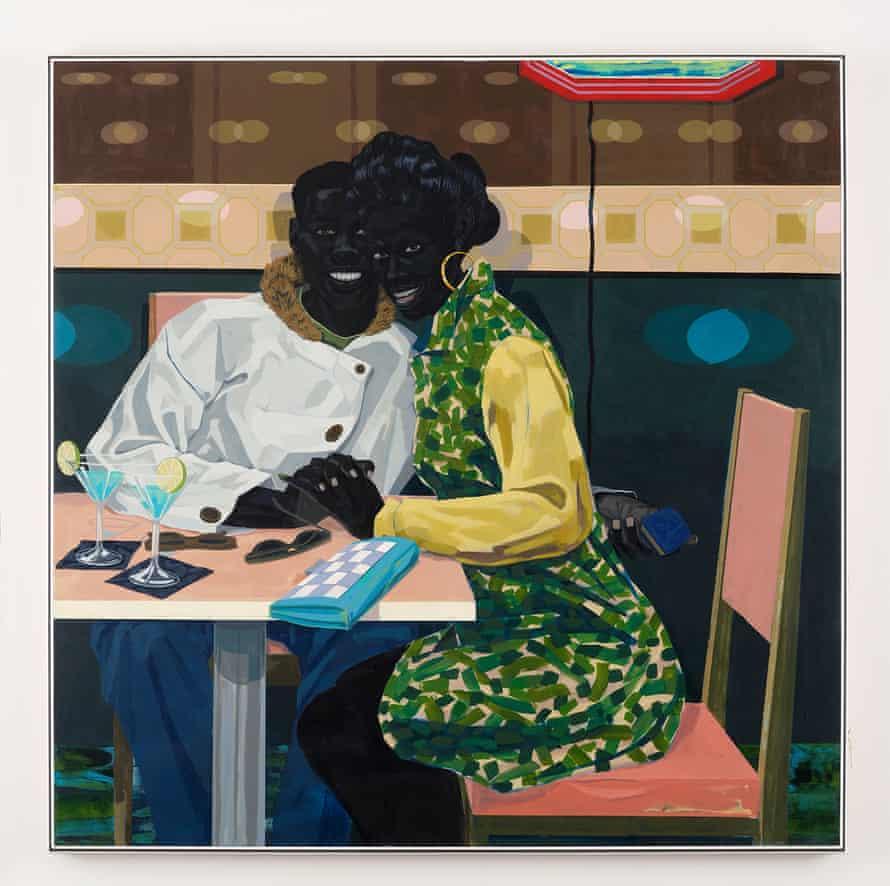 Kerry James Marshall, Untitled (Club Couple), 2014.