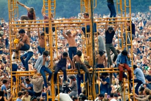 An image from Woodstock: Three Days That Defined A Generation