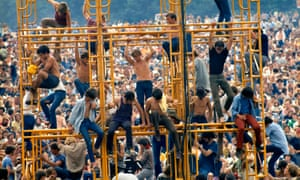 """An image from Woodstock: Three Days That Defined A Generation"""