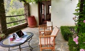 Casa Ana's terrace.