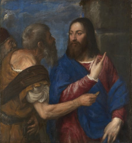Titian's The Tribute Money (1560s).