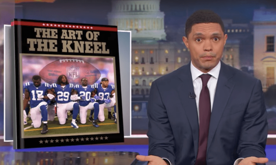 'I don't know if Trump is racist, but I do know he definitely prefers white people to black people'...Trevor Noah