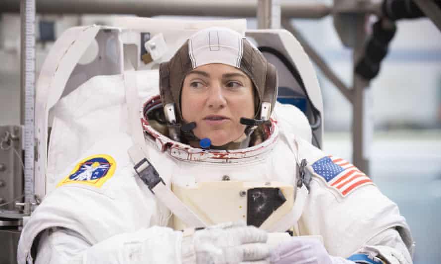 Nasa astronaut Jessica Meir