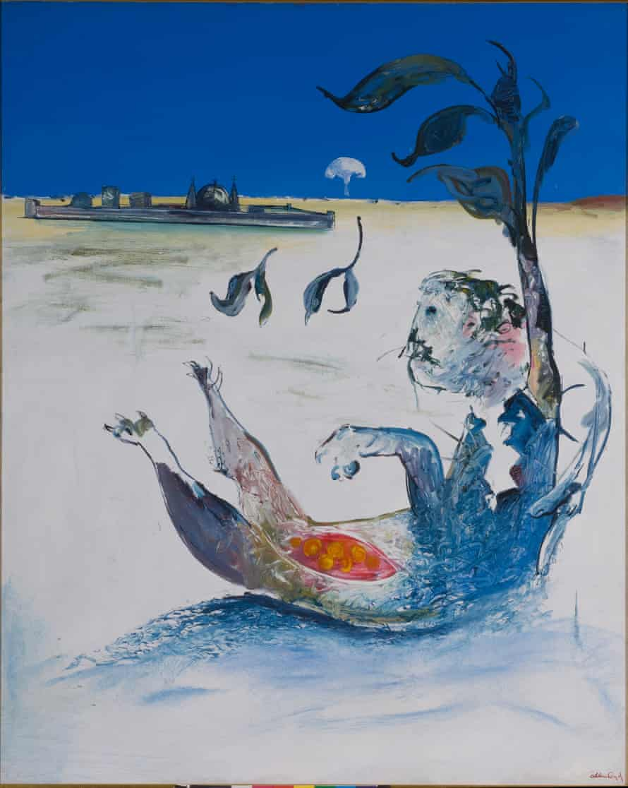 Jonah on the Shoalhaven – Outside the City (1976), by Arthur Boyd.
