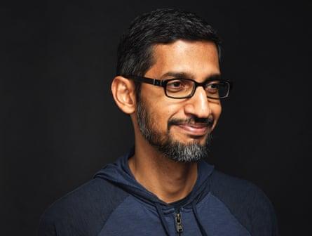 Head shot of Google CEO Sundar Pichai