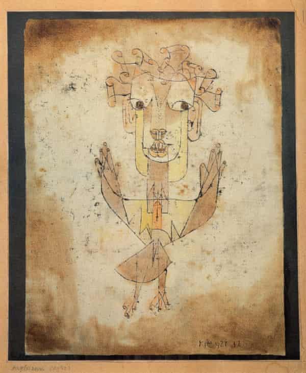 Paul Klee's Angelus Novus, 1920.