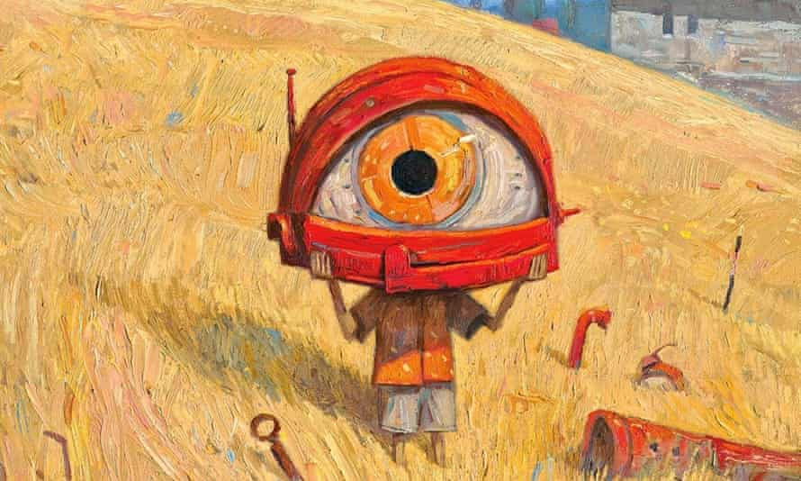 Part of the cover of Rules of Summer by Shaun Tan.