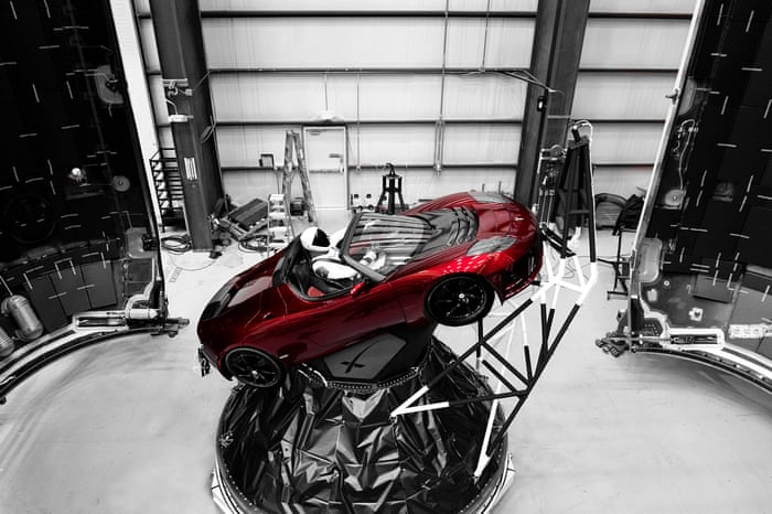 Spacex oddity how elon musk sent a car towards mars science the spacex oddity how elon musk sent a car towards mars science the guardian publicscrutiny Choice Image