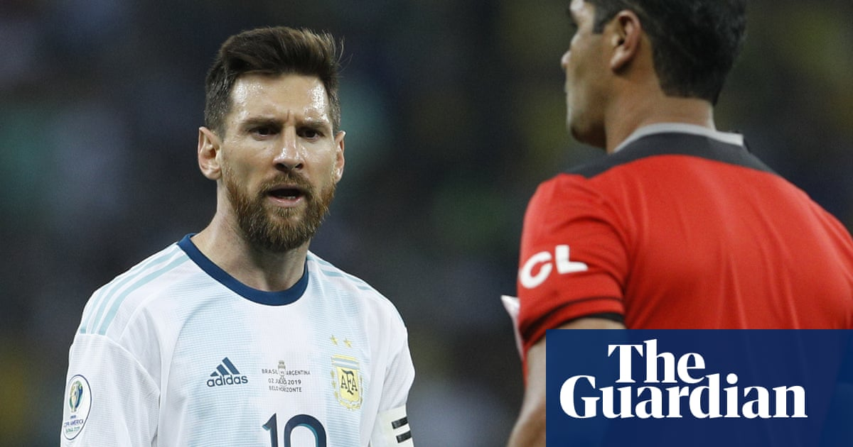 Lionel Messi Accuses Referee Of Brazil Bias After Copa