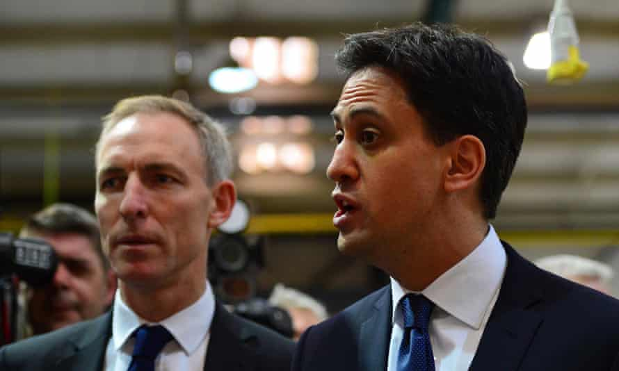 Ed Miliband with Jim Murphy last month.