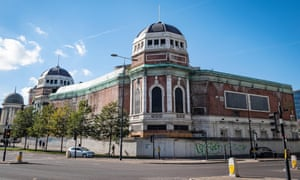 The controversial former Odeon Cinema, being regenerated as a music venue in Bradford