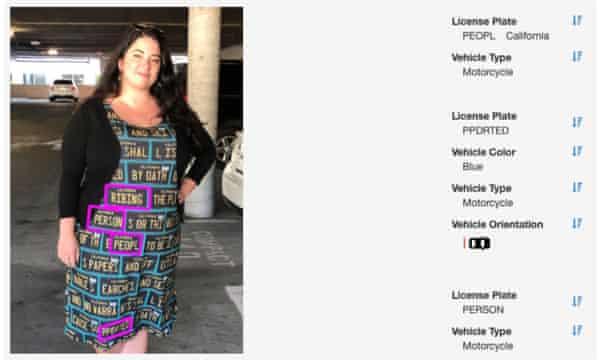 The Fashion Line Designed To Trick Surveillance Cameras World News The Guardian