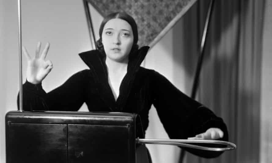 Turned down Hitchcock … Clara Rockmore, virtuoso of the theremin