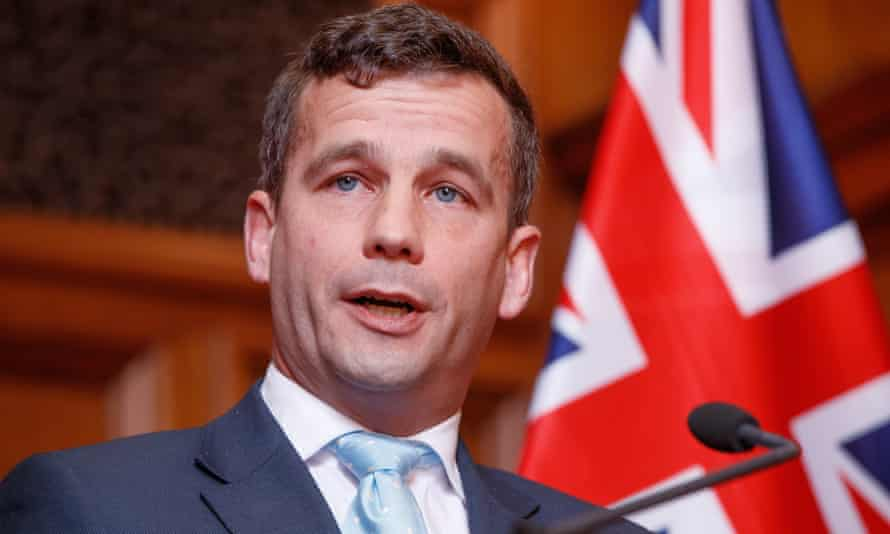 New Zealand's Act party leader David Seymour.