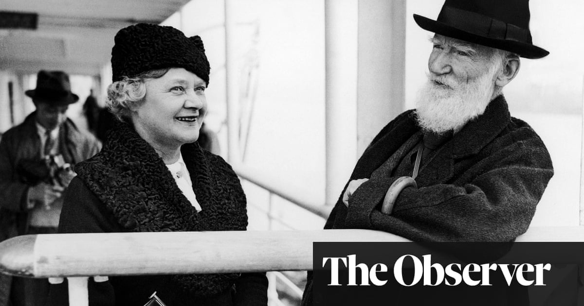 His fair lady: how George Bernard Shaw's wife played a vital role in his masterworks