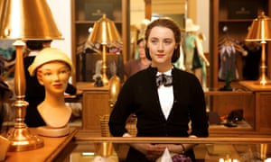 In the recent screen adaptation of Brooklyn, for which she was nominated for a Golden Globe.