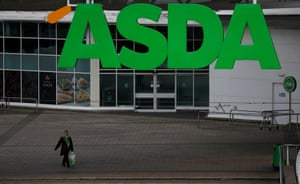An Asda store in Manchester, northern England.